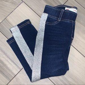 Levi's Baby Metallic Stripe Skinny Jeggings 2T